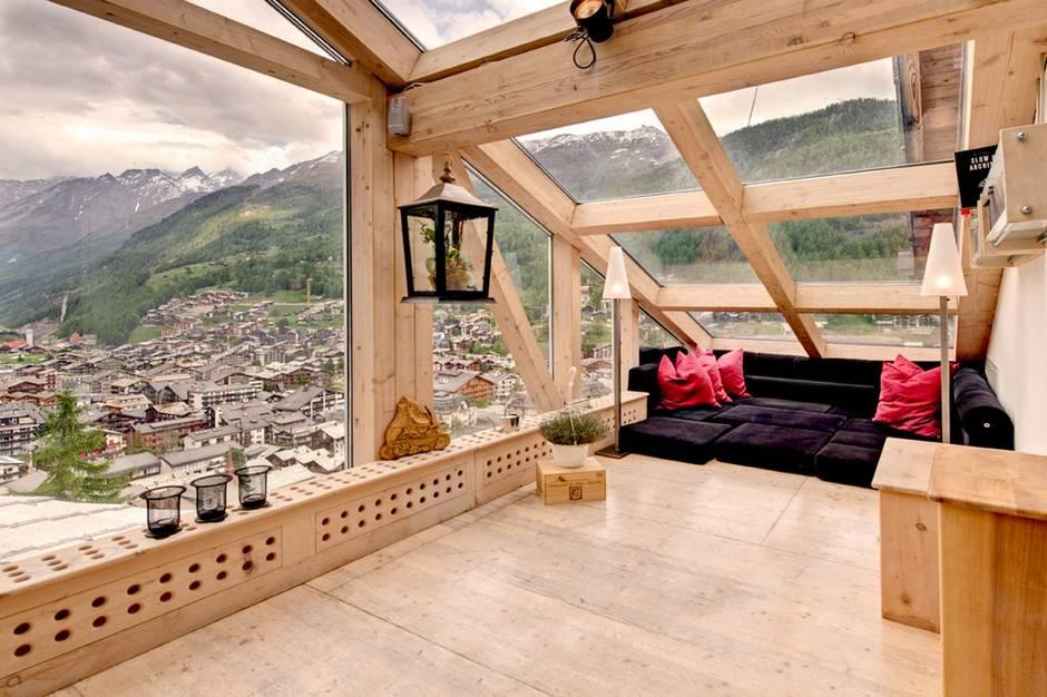 The Heinz Julen Penthouse in Zermatt, Switzerland