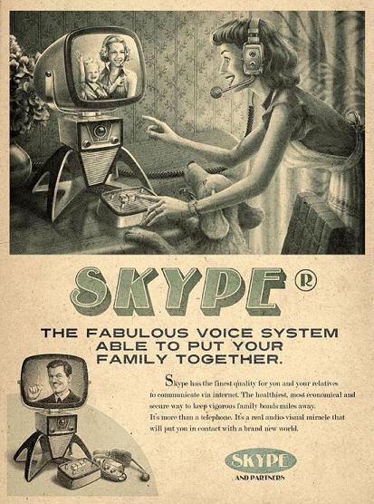 Skype ρετρό