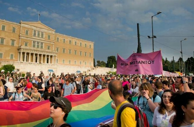 athens gay parade