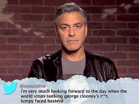 clooney twitts