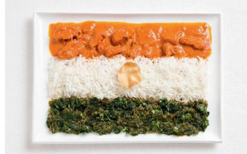 food flag india