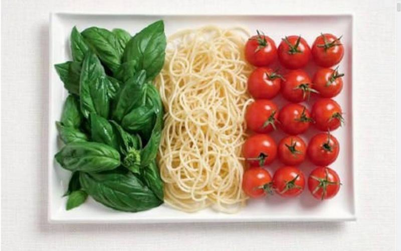 food flag italy