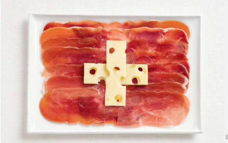 food flag switzerland