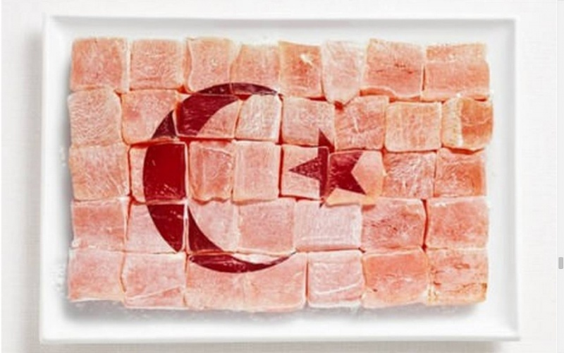 food flag turkey