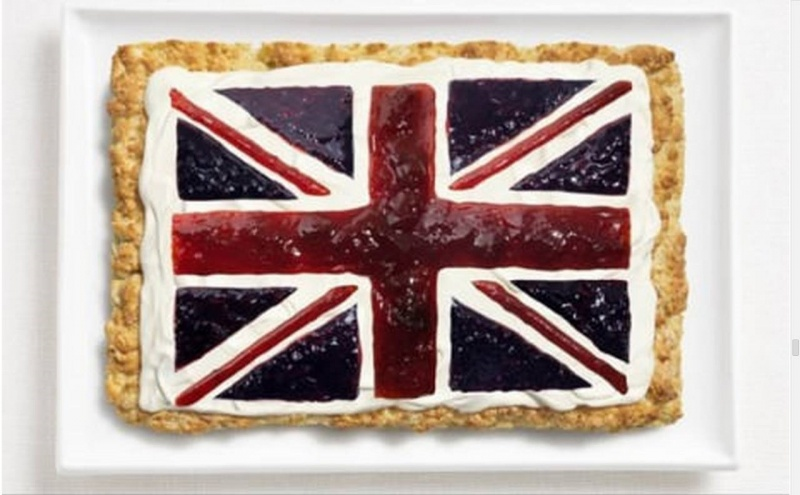 food flag united kingdom