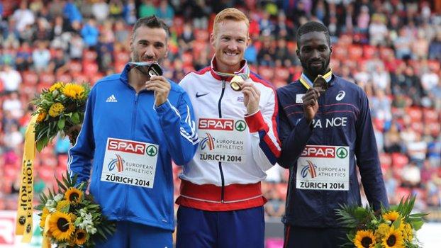 Ασημένιο μετάλλιο για τον Τσατουμά στο Ευρωπαϊκό της Ζυρίχης