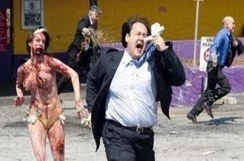 Επίθεση zombie μέρα μεσημέρι (Βίντεο)