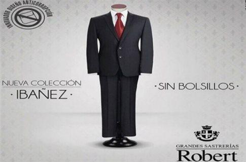 Το «Κοστούμι χωρίς τσέπες» στέλνει μήνυμα κατά της διαφθοράς