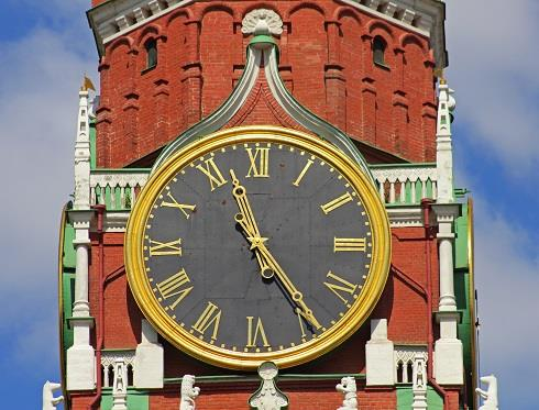 clock moscow