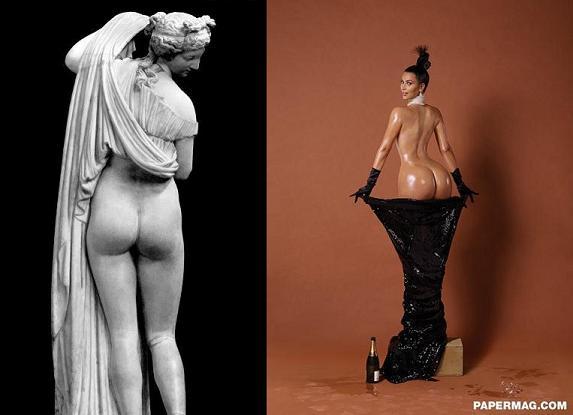 Αφροδίτη - Kim Kardashian