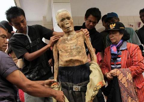 νεκροί - Ινδονησία