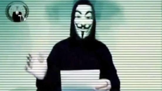 Οι Anonymous επιτίθενται στην Άνγκελα Μέρκελ