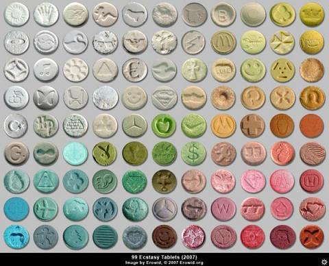 Επικίνδυνη «φουρνιά» ναρκωτικών χαπιών «Ecstasy»