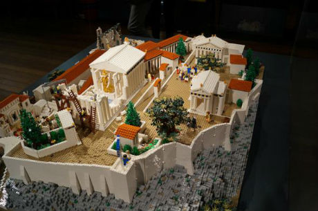 Η Ακρόπολη από Lego για πρώτη φορά στο μουσείο της Ακρόπολης (Εικόνες)