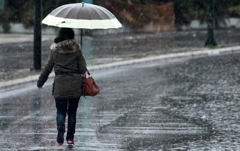 καιρος καταιγιδα βροχες