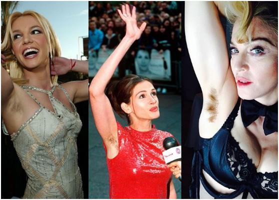 New Beauty Trend: Ντεκαπάζ… στις μασχάλες! (Εικόνες – Βίντεο)