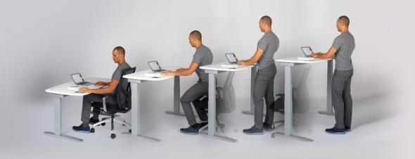 Το γραφείο που σας ξεκουράζει και σας ανακουφίζει από τα προβλήματα της καθιστικής ζωής (Εικόνες & Βίντεο)