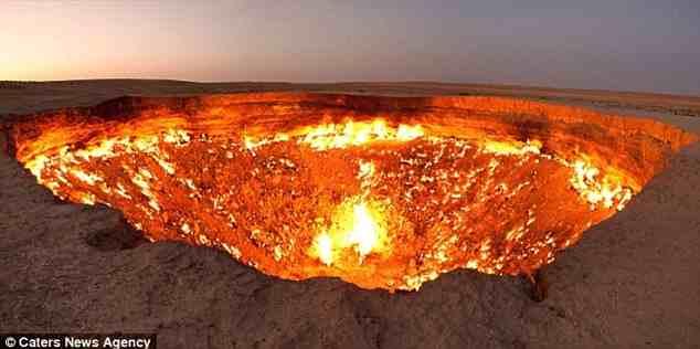 Οι πύλες της κολάσεως βρίσκονται… στο Τουρκμενιστάν