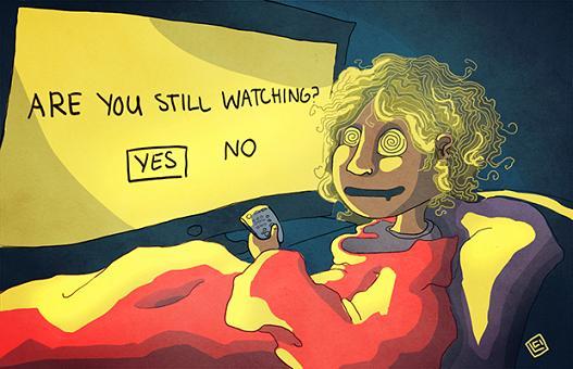 Binge Watching – Όχι και τόσο αθώα τακτική! (Βίντεο)