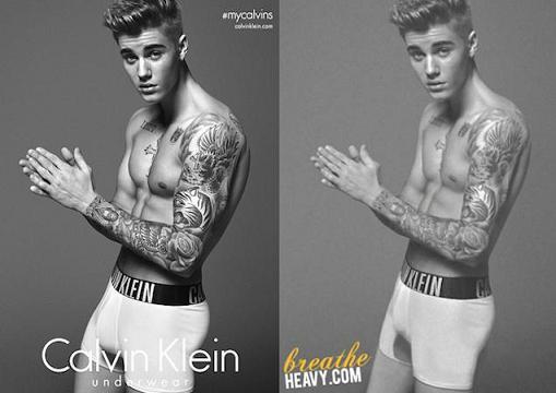 Η πραγματική φωτογράφιση του Justin Bieber για τον Calvin Klein πριν το Photoshop (Εικόνες – Βίντεο)