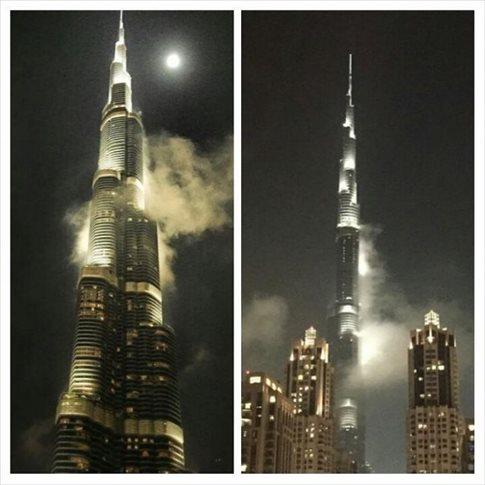 Ομίχλη πυροδότησε… συναγερμό για φωτιά στο ψηλότερο κτίριο του κόσμου