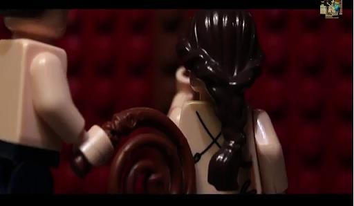 50 αποχρώσεις του γκρι από… τουβλάκια Lego (Βίντεο)