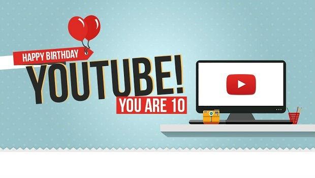 Happy birthday YouTube!