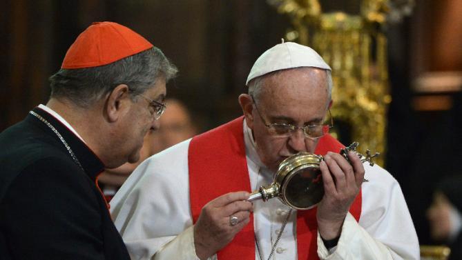 Θαύμα θεωρείται αυτό που έκανε ο Πάπας Francis στη Νάπολη…