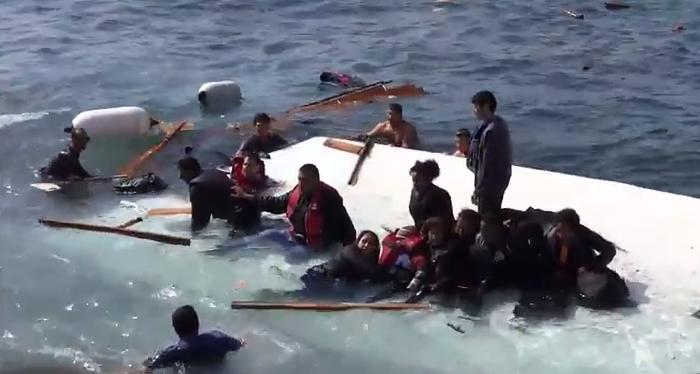 ΚΑΡΕ – ΚΑΡΕ: Οι δρακόντειες προσπάθειες διάσωσης των Σύριων ναυαγών στη Ρόδο (Βίντεο)