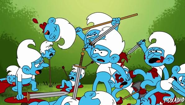 Smurfs - Game of Thrones