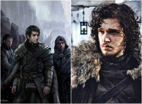 Οι χαρακτήρες του Game of Thrones από το βιβλίο στην οθόνη (Εικόνες)