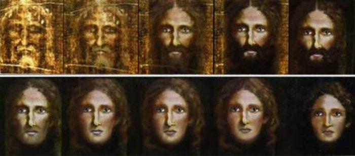 Το πραγματικό πρόσωπο του Χριστού στην παιδική του ηλικία (Εικόνες)