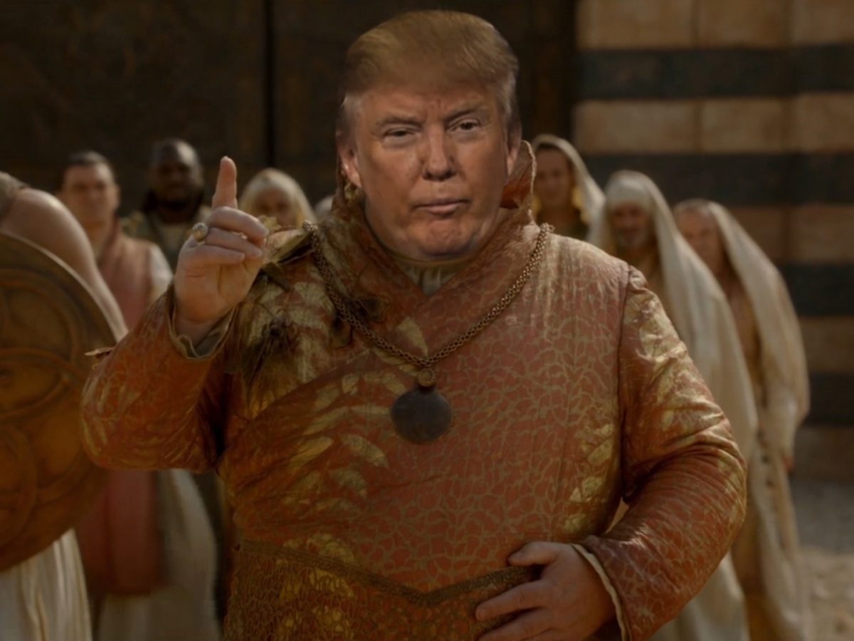 Donald Trump - Game of Thrones