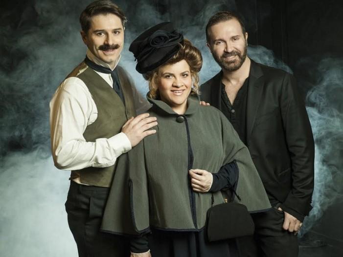 Ο «Μυστήριος Mr Love» στο θέατρο «Γκλόρια Μικρό» – Α. Μπουρδούμης – Τ. Διαγούπη