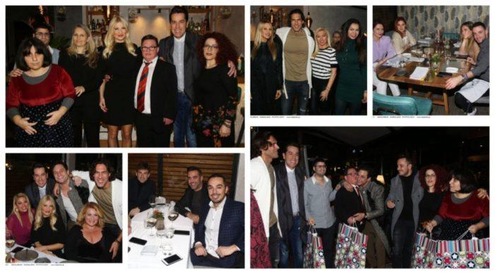 Στο φιλανθρωπικό δείπνο της Φαίης Σκορδά και του Χάρη Σιανίδη με την «Beautiful People» PR για το «Κ.Ε.Ε.Π.Ε.Α. Ορίζοντες» στο εστιατόριο Silar